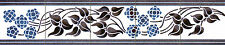 Mural Ceramic Backsplash Art Nouveau Border Tile #547