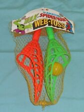 vintage HG Toys THE AMAZING SPIDER-MAN & INCREDIBLE HULK WEB TOSS game