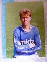 Press Photo- BALOG TIBOR; Hungarian football player (Org*,Apx. 5x3.5 cm)