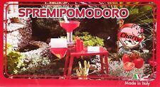 Passapomodoro spremipomodoro elettrico Charly banchetto 0,75 HP INOX collo alto