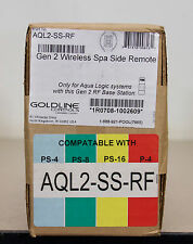 Goldline AQL2-SS-RF Gen 2 Wireless Spa Side Remote - New  (C1)