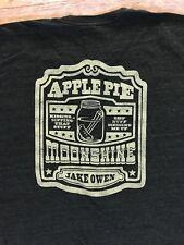 Jake Owen Shirt NEW Apple Pie Moonshine Country Music American Apparel Track 2XL
