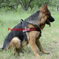 German Shepherd Harness for Dogs, Stop Pulling Dog Harness with Handle & Patches