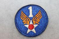 ORIGINAL WW2 1st U.S. ARMY AIR FORCE (AAF) UNIFORM PATCH