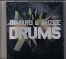 Dimaro&Ahzee-Drums Promo cd single