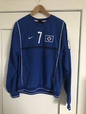 Hsv Hamburger SV Nr. 7 Trikot Nike Warm Up Training Jersey Gr. M Fleece Rarität