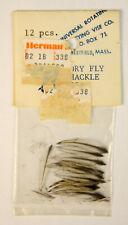 Dry Hackle White/Translusent Black