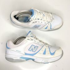 New Balance WC655WT Women's White/Blue Running Jogging Shoes Size 8D