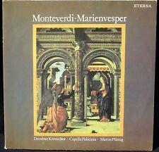 Monteverdi Marienvesper Vêpres de la Vierge Flämig 2 LP NM- à M, CV EX