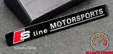AUDI S LINE MOTORSPORTS EMBLEM SCHRIFTZUG A3 (30) A4 R8 S4 S3 Quattro RS TT DTM