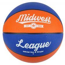 Midwest League Basketball Blue/Orange Size 5