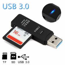 USB 3.0 Kartenleser Adapter Card Reader Stick Lesegerät Micro SD HC XC MMC TF