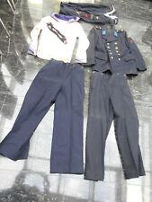 NVA-Marine-Uniform von 1960 ,1 Jacke, 2 Hosen, 2 Hemden , 1 Kragen , 1 Halstuch