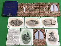 Old 1910 Antique ** HISTORIC BOSTON Photo SOUVENIR ** Wide Playing Cards S7