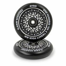 Slamm 110mm Gyro Hollow Core Wheels - Black