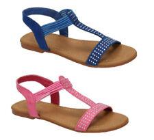Calzado de niña sandalias de color principal azul