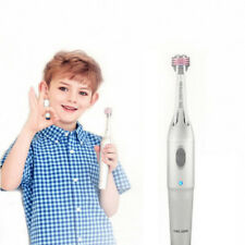 COOLSSHA Electric Auto Toothbrush 7D Premium 3 Brushes 1 Child Silver color