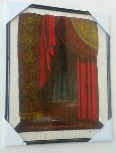"""Artist Proof screenprint entitled """"The Romantic Stage"""" and signed """"Hamilton"""""""
