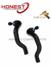 For VAUXHALL VIVARO 2001-2011 FRONT OUTER TRACK TIE ROD END L/R X2 By Karlmann