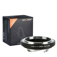 Canon FD Mount Lens to Leica M LM Mount Adapter Ring M3 M4 M5 M7 M8 M9