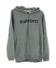 Burton Kinder Kapuzenpullover Logo Horz Fz 287407070X18,Gr XL(XL8), Grau