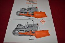 Allis Chalmers HD-21 Crawler Tractor Dozer Dealer's Brochure YABE14 vr4