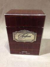 Vintage SAFARI ~ by Ralph Lauren ~ 1 oz  PURE PARFUM Perfume Presentation Box