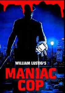 Maniac Cop - Horror - Cathy Podewell, Alvin Alexis, Hal Havins - Action Crime