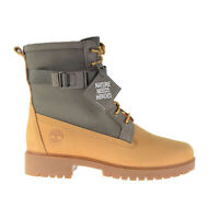 Timberland Jayne Waterproof Side Zip Women's Size 10 Boots Wheat Nubuck TB0A2AZJ