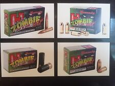 Hornady 'Zombie Max' Ammunition, Magnetic Signs. Set Of Four