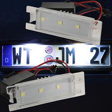 LED SMD sehr helle weiße Kennzeichen Beleuchtung Nummernschild Opel 71001-5050