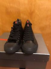New in Box Prada Men's Napa Leather Shoes High Top Sneaker Euro size6.5/US 7.5