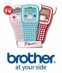 Imprimante Étiqueteuse Brother P-Touch H100 + 1 Cassette de 4m - Neuf Blister