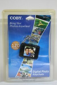 Coby Digital Photo Keychain DP-161 Holds 120 Photos 1.5 Full LCD Display