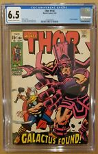 Thor #168 Origin of Galactus CGC 6.5 OW/W PAGES 1969 FN+