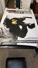 Banksy, Poster, Limited Edition print, Banksy Movie Poster, Original, Barcode,