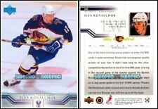 UPPER DECK 2001 ILYA KOVALCHUK NHL ATLANTA THRASHERS SUPERSTAR MINT CARD #242