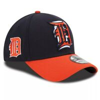 Detroit Tigers Hat New Era 39Thirty 3930 MLB Baseball Cap Flex Fit M/L Blue