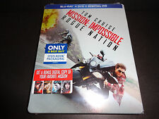MISSION IMPOSSIBLE ROGUE NATION-BluRay, DVD & Dig Code to 12-15-17--TOM CRUISE