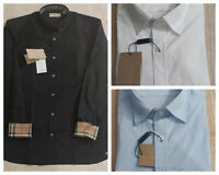 BURBERRY London Henry Men Dress Shirt Long Sleeve Cotton