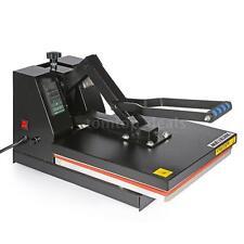 "15"" x 15"" Heat Press Transfer Digital Clamshell T-Shirt Sublimation Machine Q6H0"