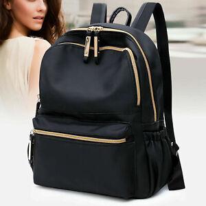 Ladies Shoulder School Bags Rucksack Backpack PU Oxford Handbag Pack Travel Bag