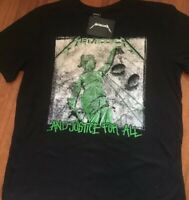Metallica And Justice For All Mens  T-Shirt New with tags , 2xL Or 3xL