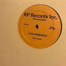 FRONT PAGE • Love Insurance • Vinile  12 Mix • RP010