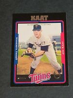 Jim Kaat Minnesota Twins 2005 Topps Black Retired #101 42/54