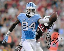 BUG HOWARD HAND SIGNED NORTH CAROLINA TAR HEELS 8X10 PHOTO W/COA