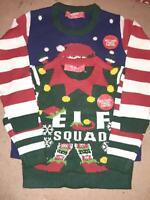 Kids Boys Girls Christmas Xmas Jumper New Knitted Sweater UK