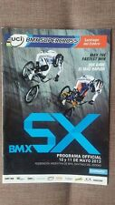 Bmx Supercross Uci 2013 Program Sx World Cup Redline Dk Haro Gt Crupi Gw Chase