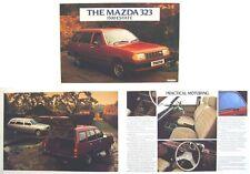 Mazda 323 1500 Estate 1982-83 Original UK Sales Brochure Pub. No. 1500E/82/6