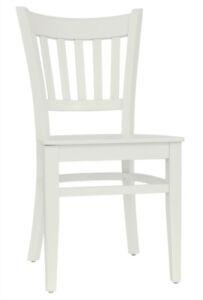 Set 2 Stühle Stuhl Esszimmerstuhl Lehnstuhl Küchenstuhl Buche massiv creme T002